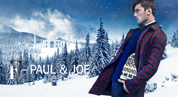 MAISON F pour PAUL & JOE OR THE STORY OF BEAUTIFUL COLLABORATION... COLLECTION OF TIES, BOW TIES AND POCKETS